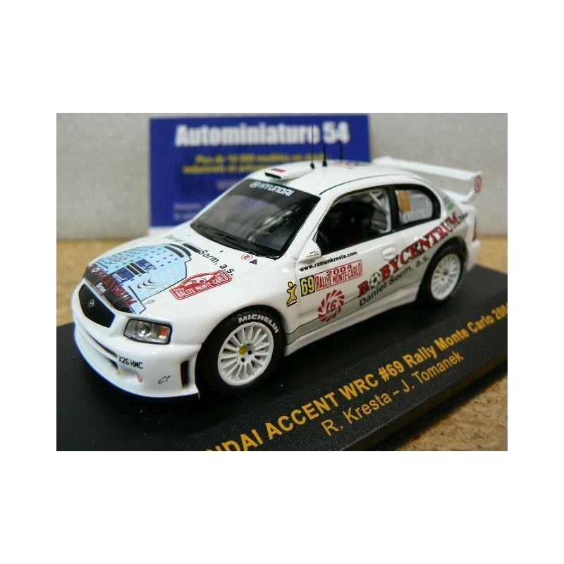 Ixo Presse Rallye 1//43 Hyundai Accent WRC Monte Carlo 2003