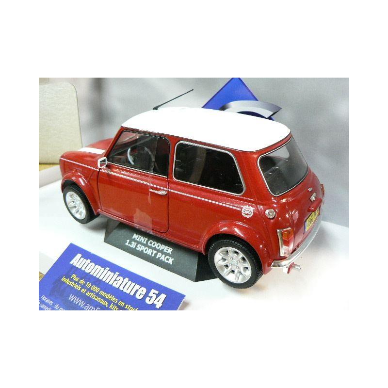 AUSTIN MINI COOPER SPORT 1,3l inj PACK voiture miniature 1//18 collection solido