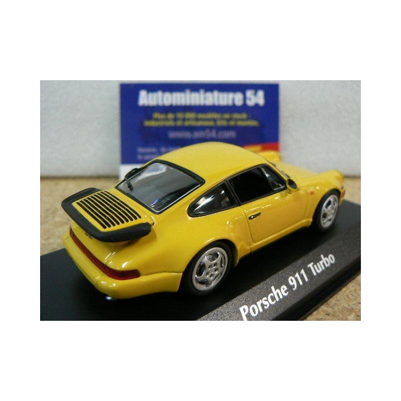 Porsche 911 964 Turbo Yellow 1990 940069104 Maxichamps