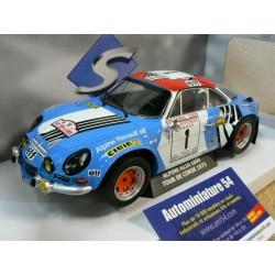 1973 Alpine Corse A110 De 1800 N°1 Tour wklXZiuTOP