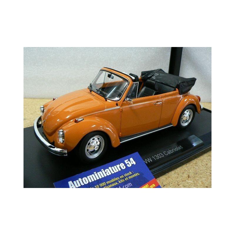 volkswagen 1303 cabriolet 1973 orange cox coccinelle 188521 norev autominiature54. Black Bedroom Furniture Sets. Home Design Ideas