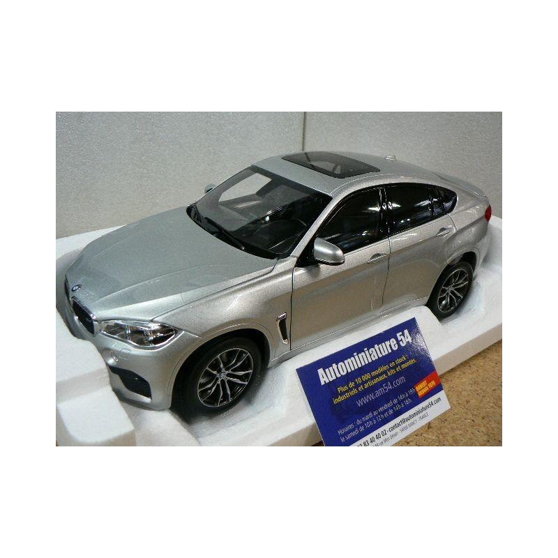 Bmw X6m 2015: BMW X6 M 2015 Silver 183200 Norev