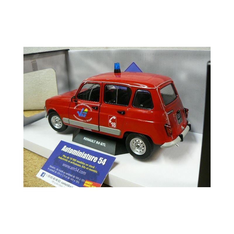 Renault 4 GTL Clan Pompier Du Var 1984 1800106 Solido