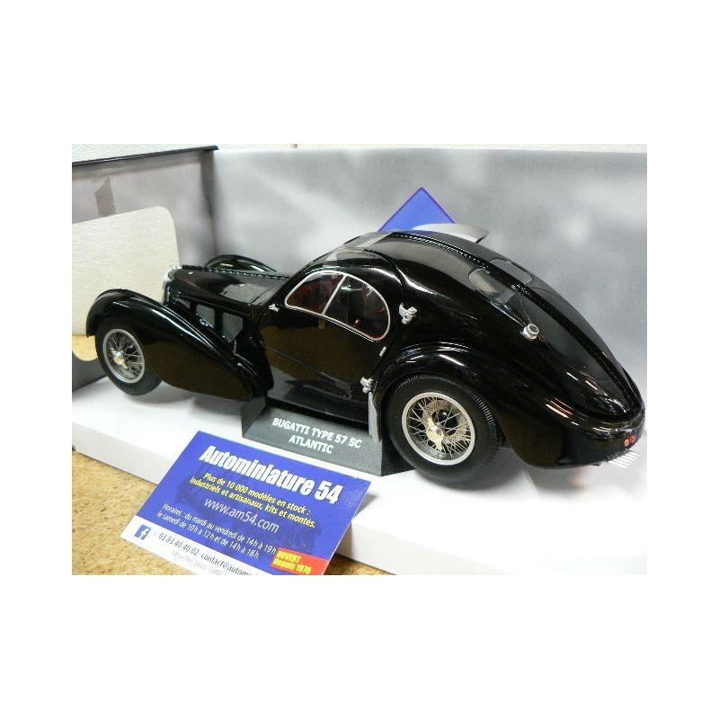 solido S1802101 1:18 1937 Bugatti Atlantic-Black