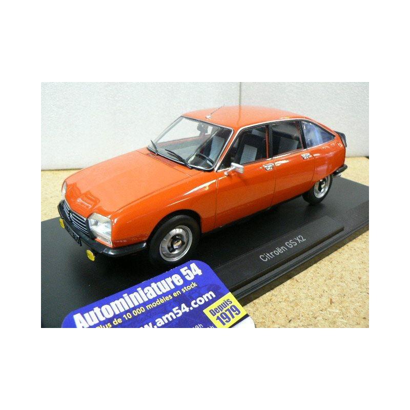 Norev Citroen GS X2 Orange Ibiza 1978 1//18