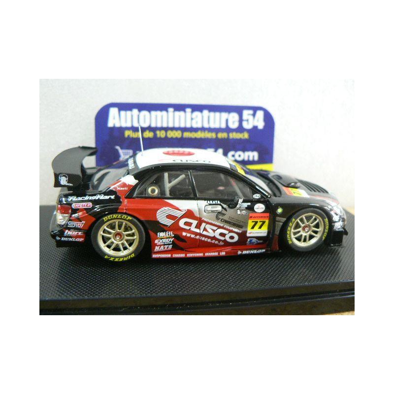 2007 Cusco Dunlop Subaru Impreza n°77 GT300 44974 Ebbro ...