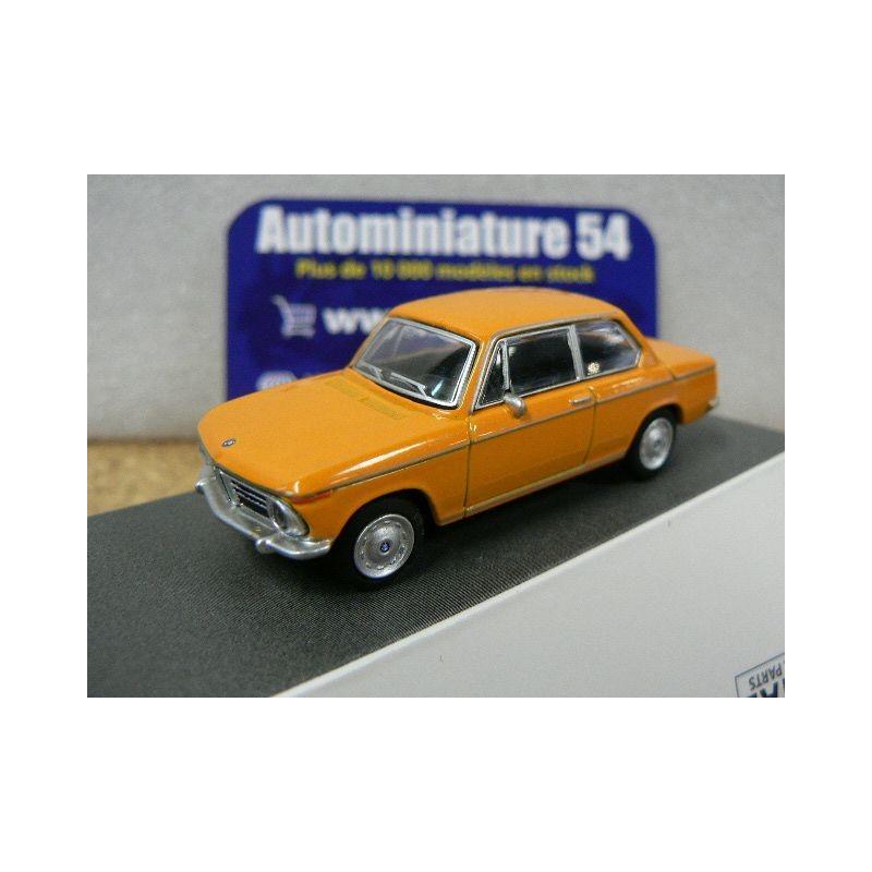 Schuco 452022700 BMW 2002 Voiture Miniature /Échelle 1//64 Orange