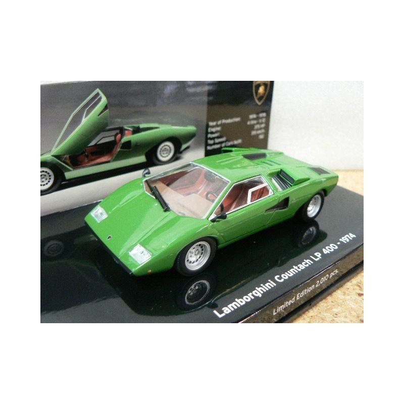 Lamborghini Countach Lp 400 1974 Green 436103100 Minichamps