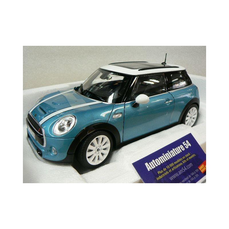 mini cooper s 2015 light blue 183111 norev autominiature54. Black Bedroom Furniture Sets. Home Design Ideas