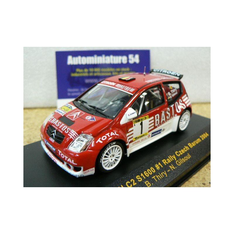Barum Rally: 2004 Citroen C2 S1600 N°1 Thiry