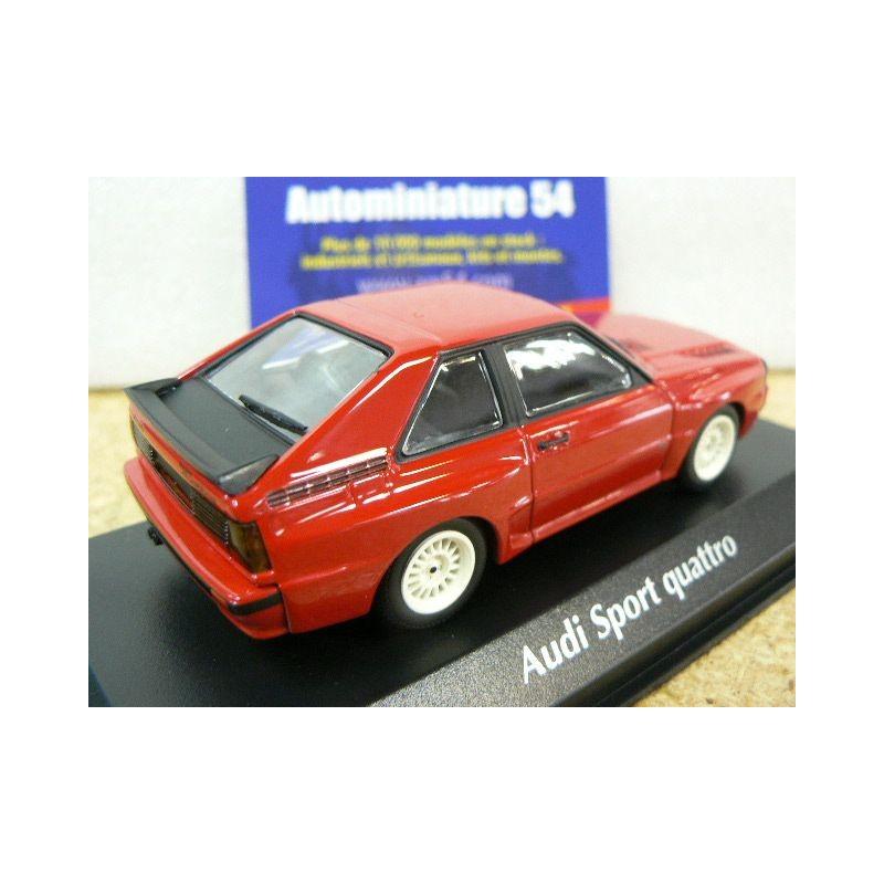 Maxichamps 940012120 Audi Sport Quattro Red 1:43 Scale